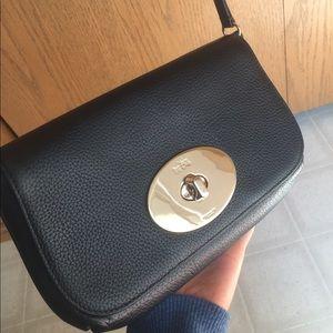 Black Coach clutch & crossbody purse